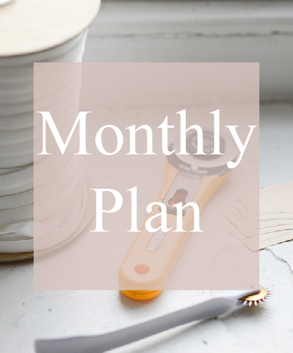 Production Process Monthly Plan